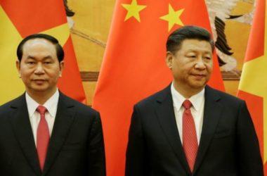 Việt Nam gửi điện thăm hỏi Trung Quốc
