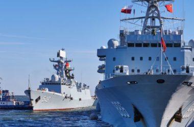 Ba tàu hải quân Trung Quốc thăm 'thiện chí' Philippines