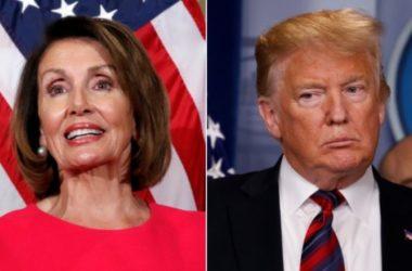 Trump không cho Chủ tịch Hạ Nancy Pelosi dùng máy bay quân sự đi công tác
