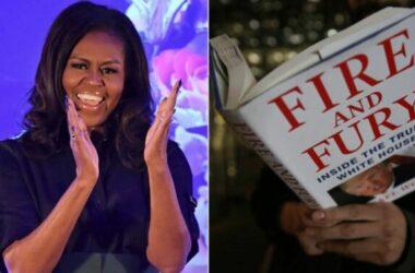 Sách Michelle Obama cạnh tranh với sách viết về Donald Trump