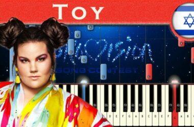Netta xứ Israel với bản nhạc Toy chiếm quán quân  Eurovision 2018