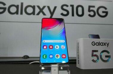 Samsung trình làng điện thoại 5G đầu tiên trên thế giới