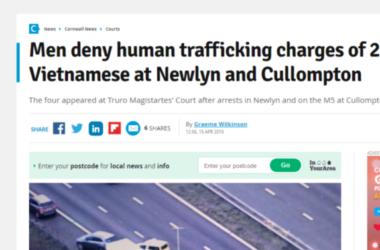 4 Người Anh Quốc ra tòa trong vì đưa 29 người Việt nhập cảnh lậu