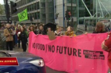 Biểu tình chống biến đổi khí hậu ở London