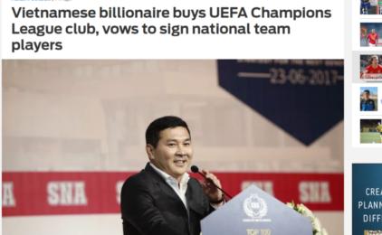 Tỷ phú Việt Nam Nguyễn Hoài Nam mua Club bóng đá Bosnia FK Sarajevo