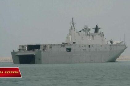 Hai tàu hải quân Úc sắp cập cảng Cam Ranh