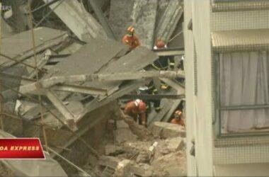 Thượng Hải: Sập cao ốc, 11 người được cứu sống
