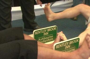 Giải vô địch đấu vật ngón chân ở Anh Quốc