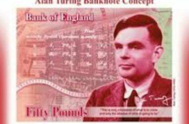 Tiền Anh Quốc in hình nhà toán học Turing