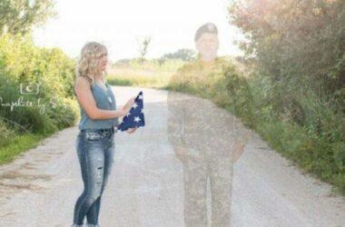 Hoa Kỳ – Nebraska: Julia Yllescas Và Tấm Ảnh Của Người Cha Chết Trận Tưởng Như Vẫn Còn Đây
