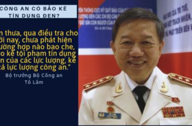Bộ trưởng Công An Tô Lam cảnh báo tín dụng đen trên mạng Internet