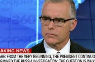 Cựu Phó Giám đốc McCabe kiện FBI về chuyện sa thải ông