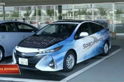 Toyota thử xe chạy bằng năng lượng mặt Trời