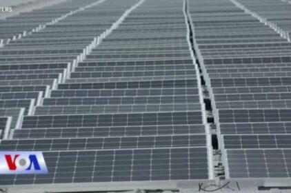 Pháp khai trương 'trang trại nổi' về năng lượng mặt trời
