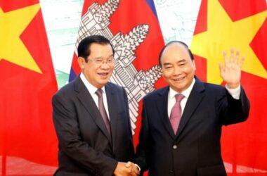 Thủ tướng Hun Sen đến Việt Nam giải quyết các vấn đề biên giới