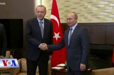 Thổ Nhĩ Kỳ, Nga hy vọng cùng giải quyết khủng hoảng khu vực