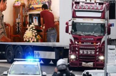 Công bố danh tính 39 người chết trong thùng xe tải ở Anh