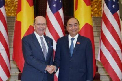 Bộ trưởng Thương mại Mỹ  Wilbur Ross thăm Việt Nam