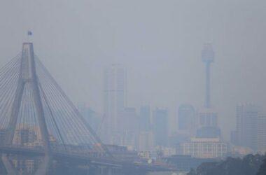 Sydney ô nhiễm không khí do cháy rừng