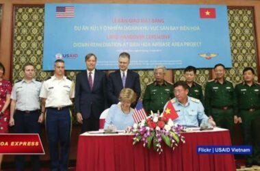 VN giao mặt bằng để Mỹ xử lý dioxin tại sân bay Biên Hòa