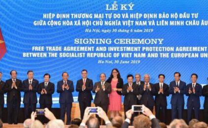 Ủy ban Châu Âu thảo luận về hiệp định thương mại tự do với VN