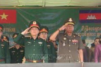 Việt Nam – Campuchia diễn tập cứu nạn