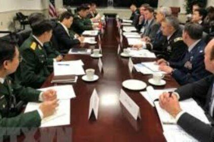 Đối thoại Quốc phòng Mỹ-Việt 2019