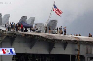 Thêm 25 thủy thủ nhiễm Covid-19 trên hàng không mẫu hạm Mỹ vừa thăm VN