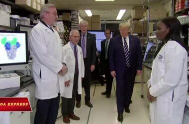 Donald Trump thăm cơ sở nghiên cứu vaccine, khẳng định nỗ lực chống virus corona