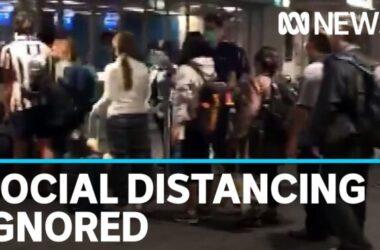 Khách du lịch trở về Úc không tuân thủ 1,5 mét tại sân bay quốc tế Sydney