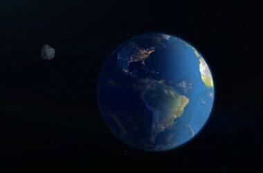 Một thiên thạch lớn sắp bay ngang trái đất