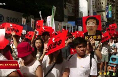Dân Hong Kong kỷ niệm ngày 'triệu người' tuần hành vì dân chủ