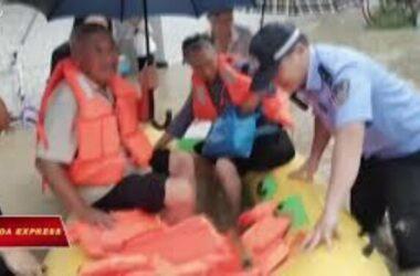 Trung Quốc: Lũ lụt, hàng chục ngàn người sơ tán