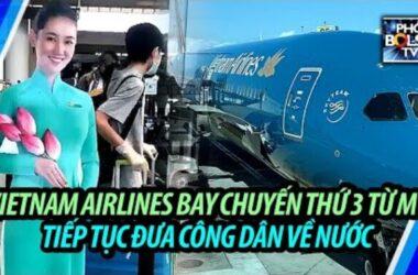 Chuyến bay thứ 3 đưa công dân Việt ở Mỹ về nước