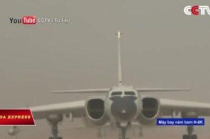 Việt Nam phản đối Trung Quốc điều chiến đấu cơ H-6J ra Phú Lâm