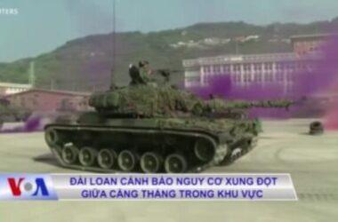 Đài Loan cảnh báo nguy cơ xung đột trong khu vực