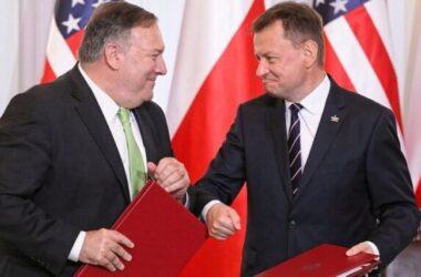 Mike Pompeo ký thỏa thuận điều quân Mỹ từ Đức sang Ba Lan