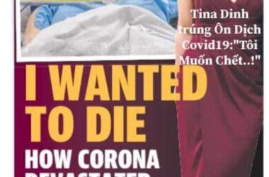 Tina Dinh bị trúng Đạn China Covid19 và Tôi Nợ Họ..!