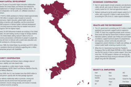 Đại sứ quán Mỹ đăng bản đồ Việt Nam có Hoàng Sa-Trường Sa