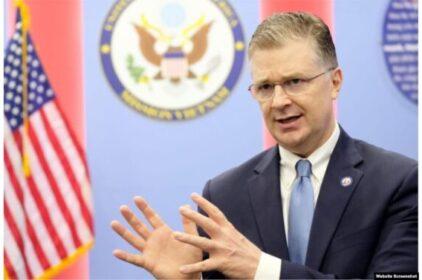 Đại sứ Daniel Kritenbrink: Chính sách Biển Đông của Mỹ 'vẫn tiếp tục'
