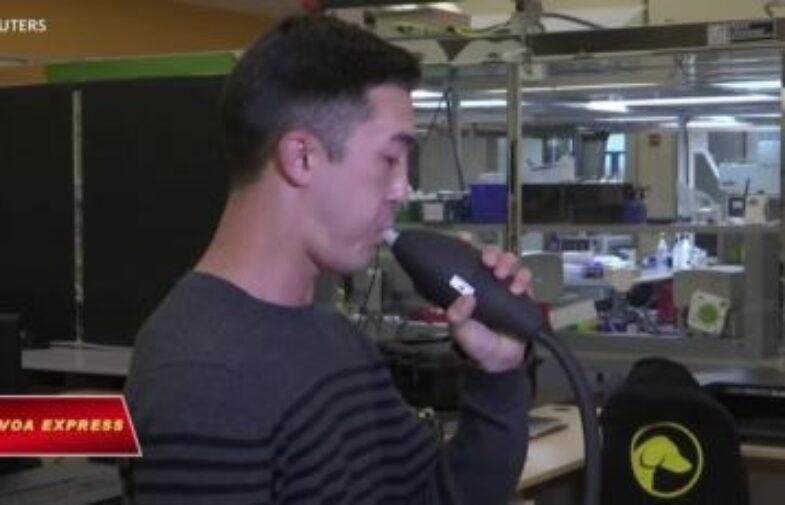 Máy kiểm tra hơi thở có thể phát hiện COVID-19