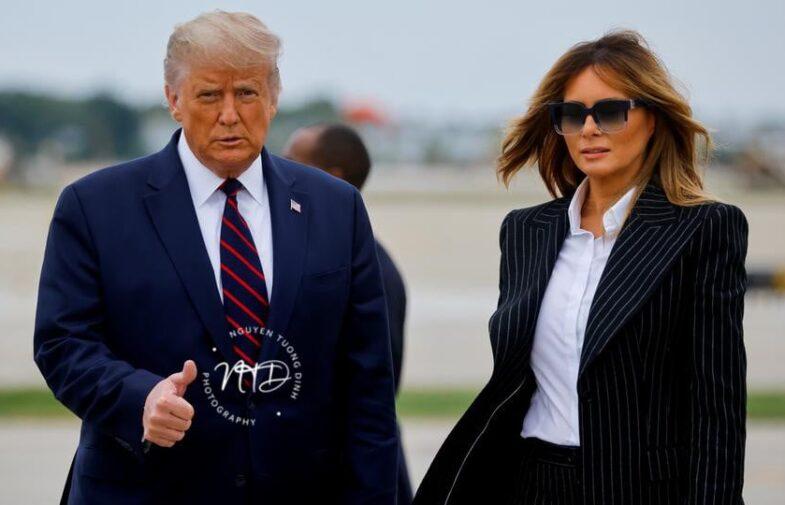 Tổng Thống Mỹ Donald Trump và Đệ Nhất Phu Nhân Hoa Kỳ test Positive dính Covid19